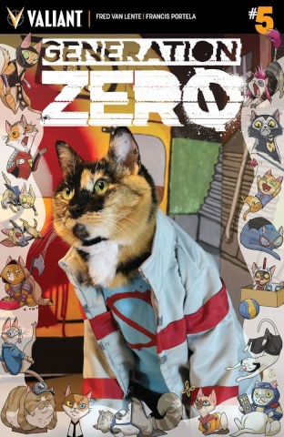 Generation Zero #5 (Cat Cosplay Cover)