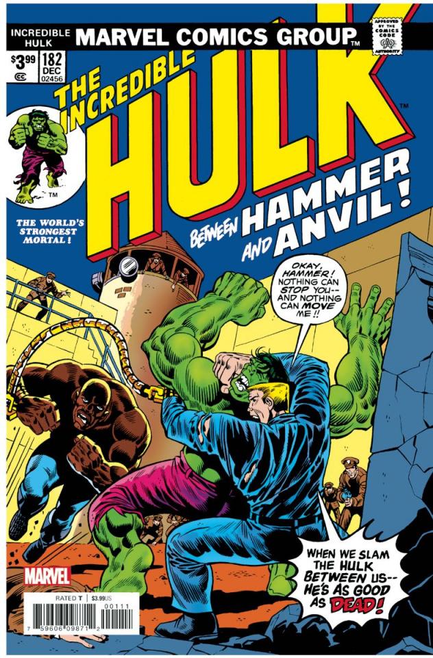 The Incredible Hulk #182 (Facsimile Edition)