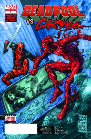 Deadpool vs. Carnage #2 (2nd Printing)