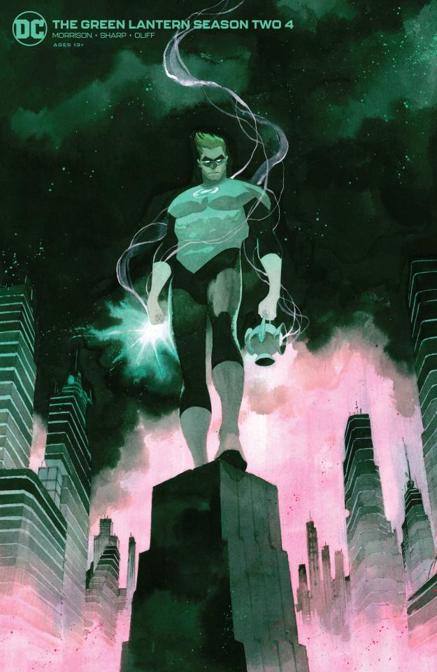 Green Lantern, Season 2 #4 (Matteo Scalera Cover)