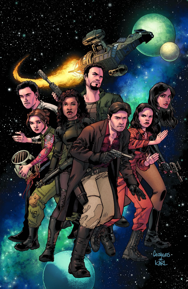 Serenity: No Power in the 'Verse #1 (Jeanty Cover)