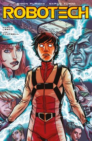Robotech #13 (Browne Cover)