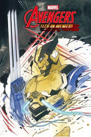 Avengers: Tech-On #3 (Momoko Cover)