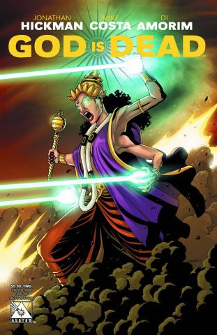 God Is Dead #2 (God of Destruction Cover)