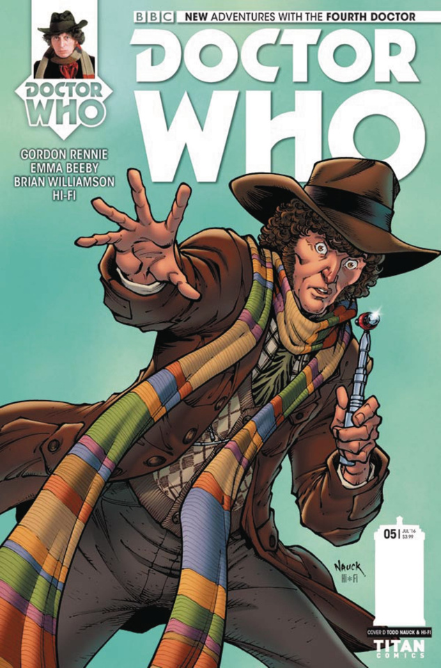 Doctor Who: New Adventures with the Fourth Doctor #5 (Nauck Cover)