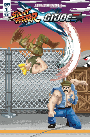 Street Fighter X G.I. Joe #1 (Waite Cover)