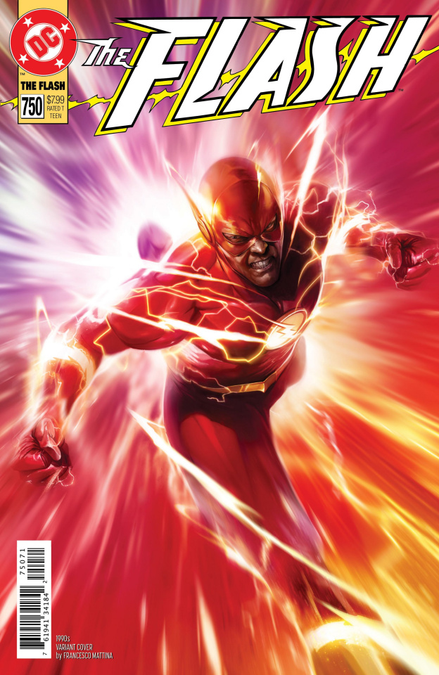 The Flash #750 (1990s Mattina Cover)