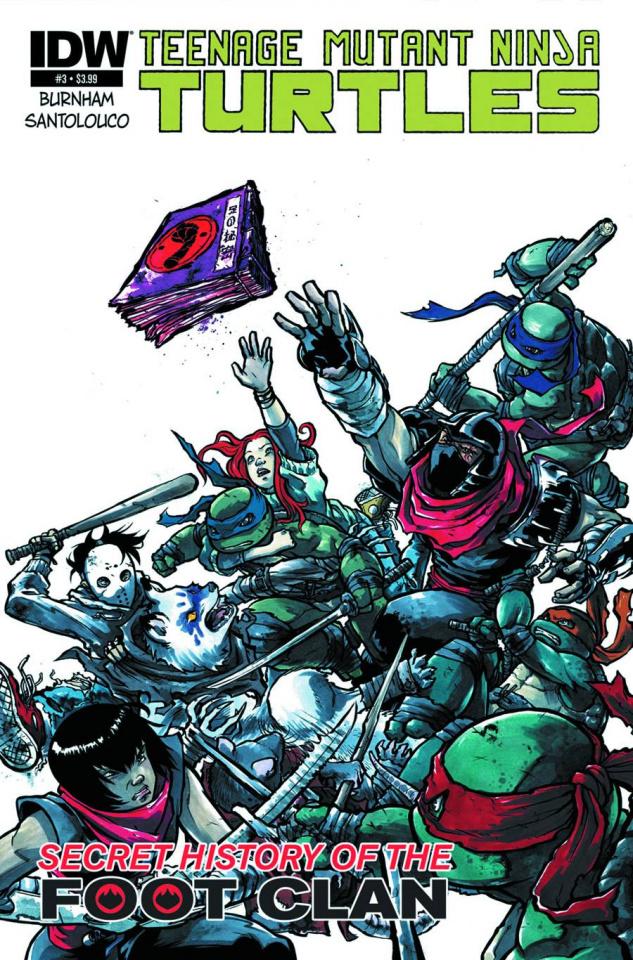 Teenage Mutant Ninja Turtles: The Secret History of the Foot Clan #3