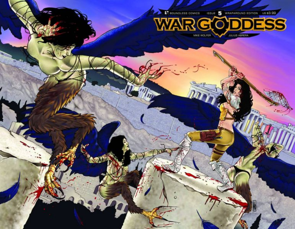 War Goddess #5 (Wrap Cover)