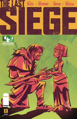 The Last Siege #7 (Hero Initiative Cover)