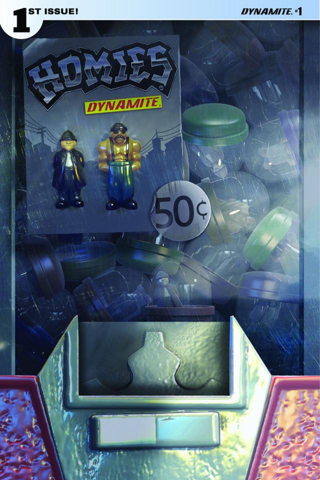 Homies #1 (Adams Vending Machine Cover)