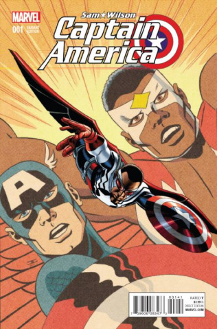 Captain America: Sam Wilson #1 (Cassaday Cover)