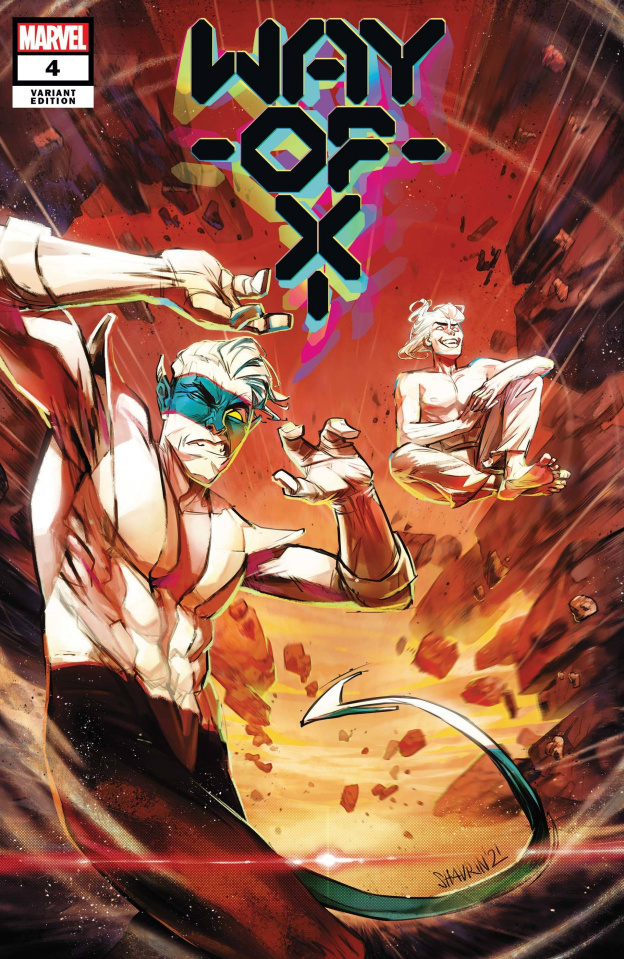 Way of X #4 (Shavrin Cover)