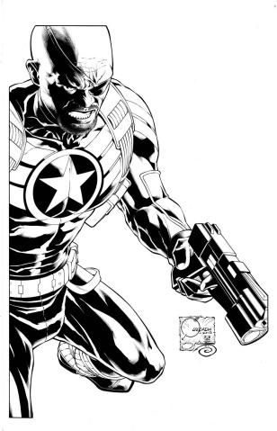 Secret Avengers #1 (Quesada Sketch Cover)