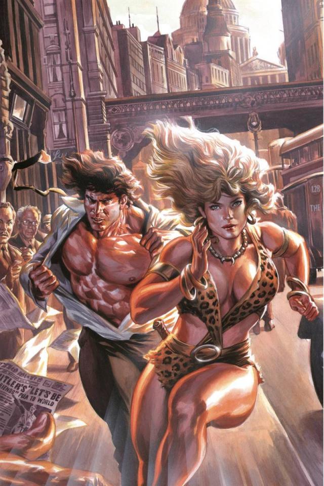 Lords of the Jungle #2 (Rare Massafera Virgin Art Cover)