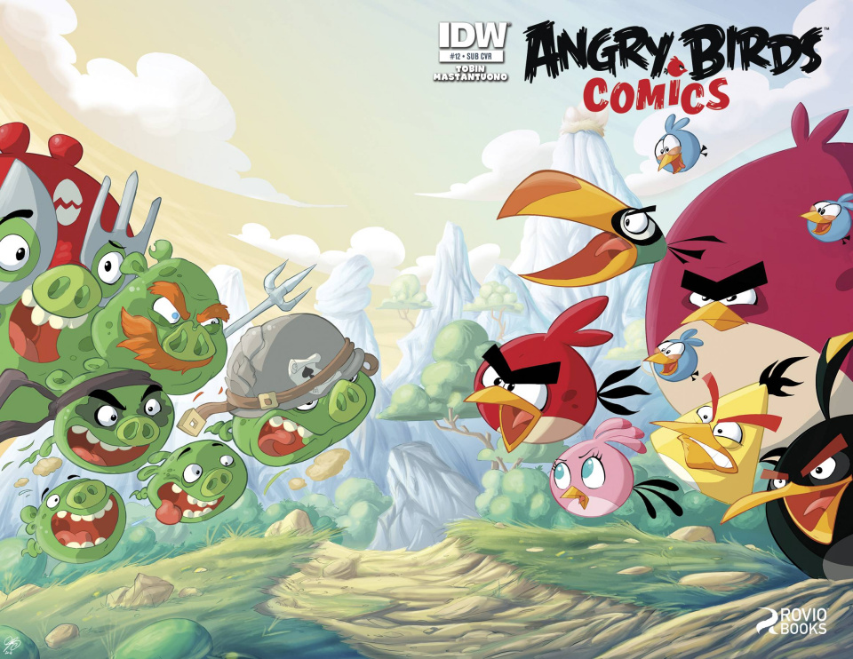 Angry Birds #12 (Subscription Cover)