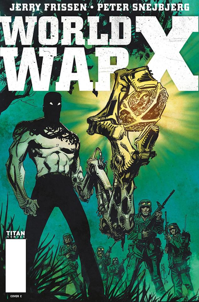 World War X #2 (McCrea Cover)