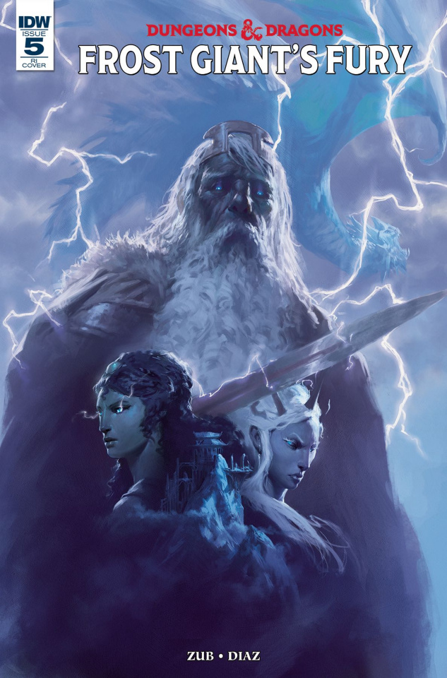 Dungeons & Dragons: Frost Giant's Fury #5 (10 Copy Cover)