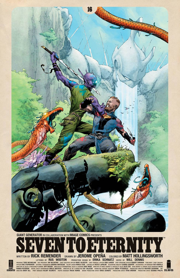 Seven to Eternity #16 (Opena & Hollingsworth Cover)