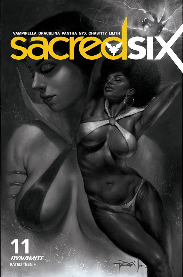 Sacred Six #11 (30 Copy Parrillo B&W Cover)