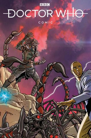 Doctor Who Comics #2 (Jones Cover)