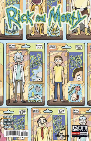 Rick and Morty #24 (Monster Cover)