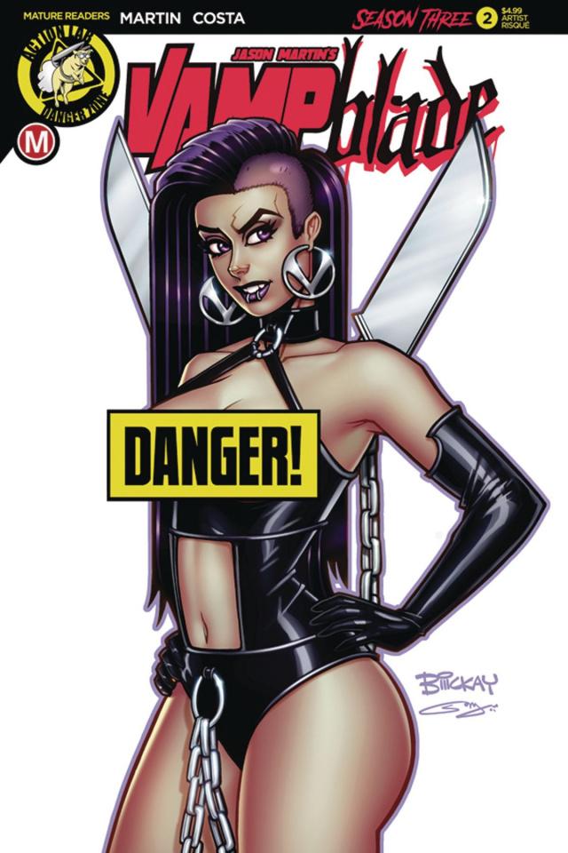 Vampblade, Season Three #2 (McKay Risque Cover)