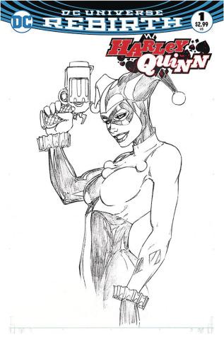 Harley Quinn #1 (Aspen B&W Set)