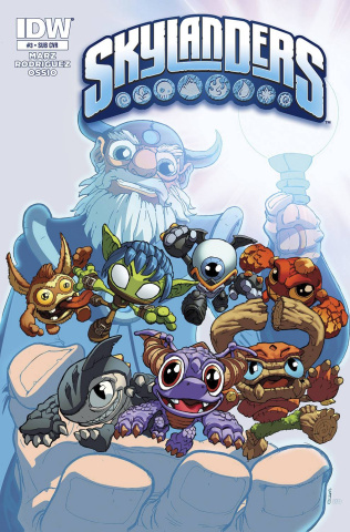Skylanders #3 (Subscription Cover)