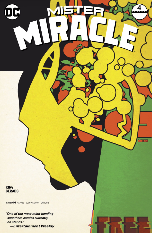 Mister Miracle #4 (Variant Cover)