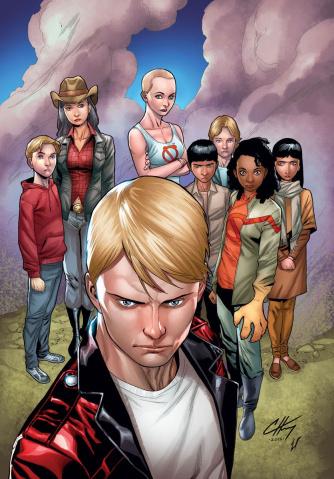 Generation Zero #1 (40 Copy Henry Cover)