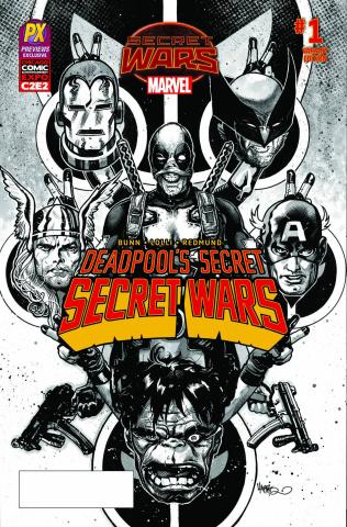 Deadpool's Secret Secret Wars #1 (C2E2 PX Inked Cover)