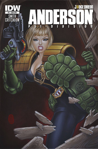 Judge Dredd: Anderson - Psi-Division #3 (Subscription Cover)