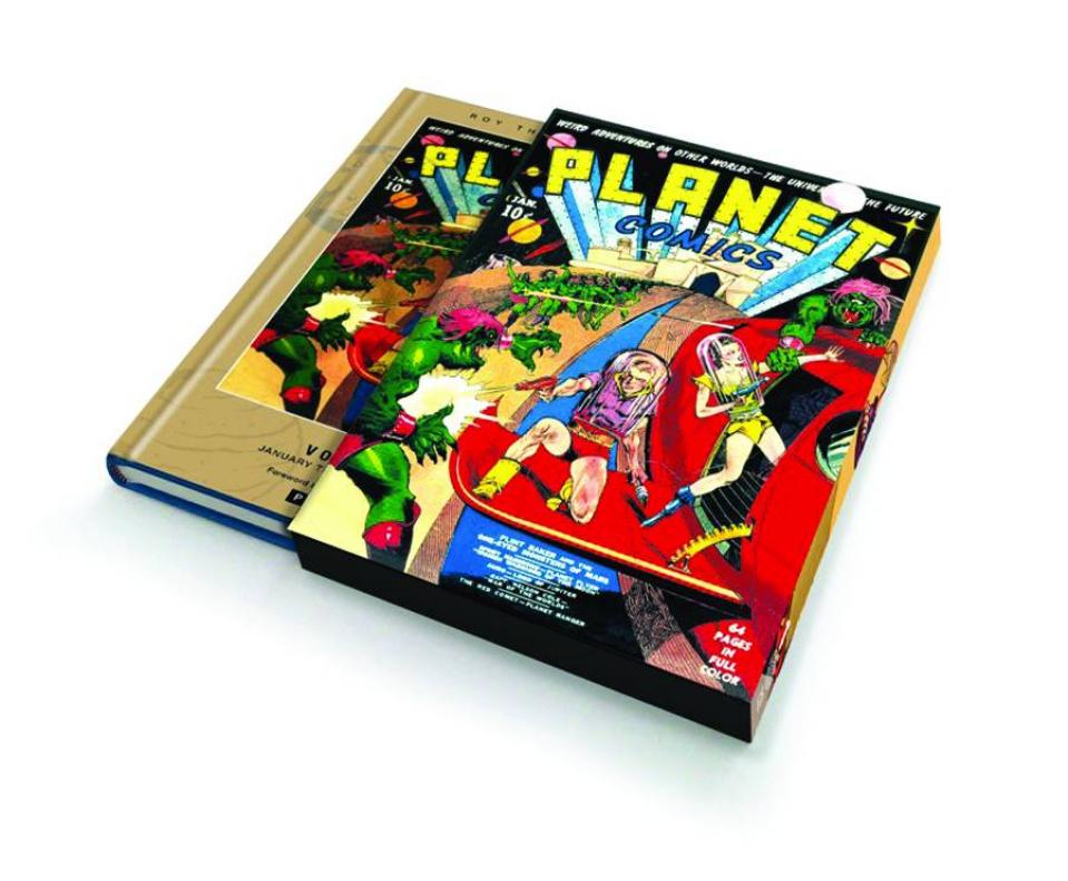 Planet Comics Vol. 1 (Slipcase Edition)
