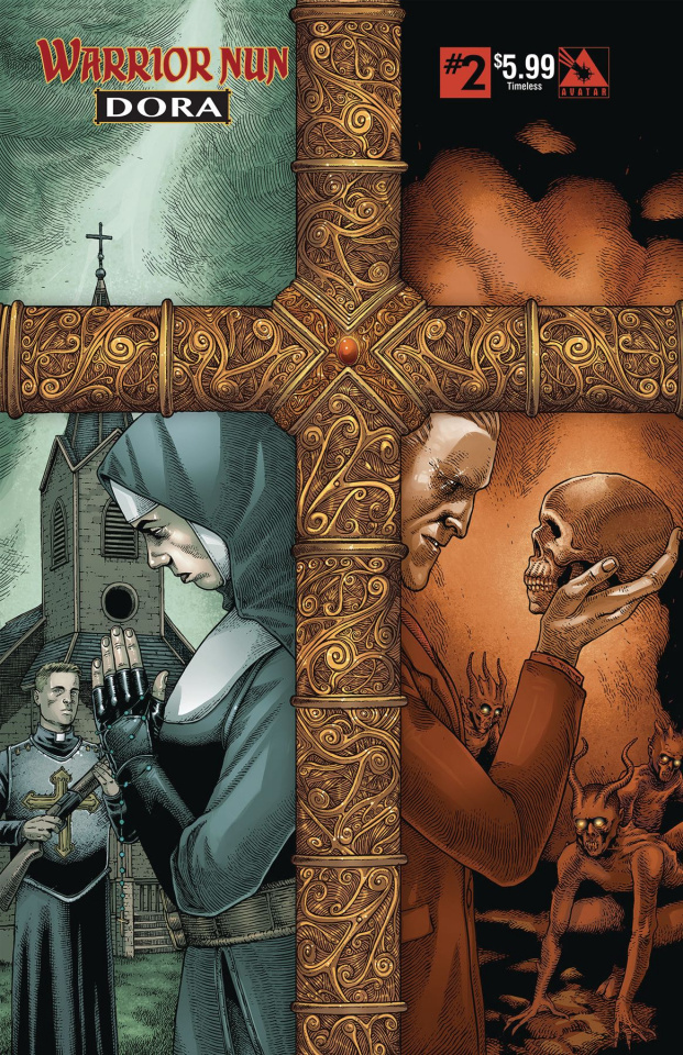 Warrior Nun: Dora #2 (Timeless Cover)