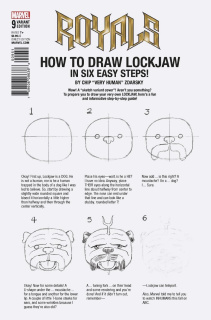 Royals #9 (Zdarsky How To Draw Cover)