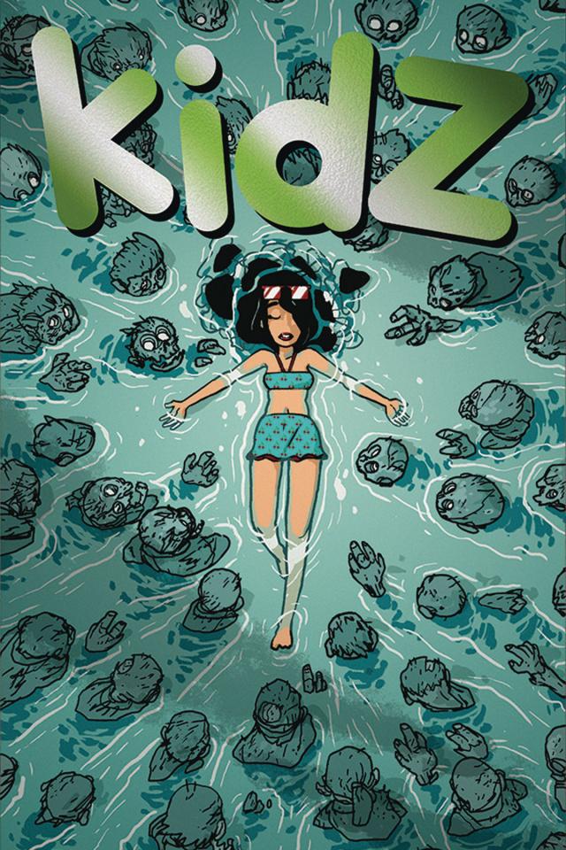 Kidz #3 (10 Copy Foil Cover)