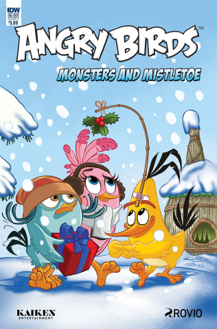 Angry Birds Comics Quarterly (Rodriques Cover)