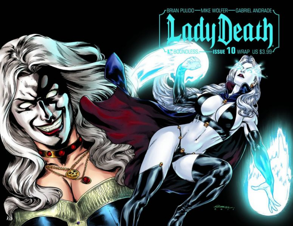 Lady Death #10 (Wrap Cover)