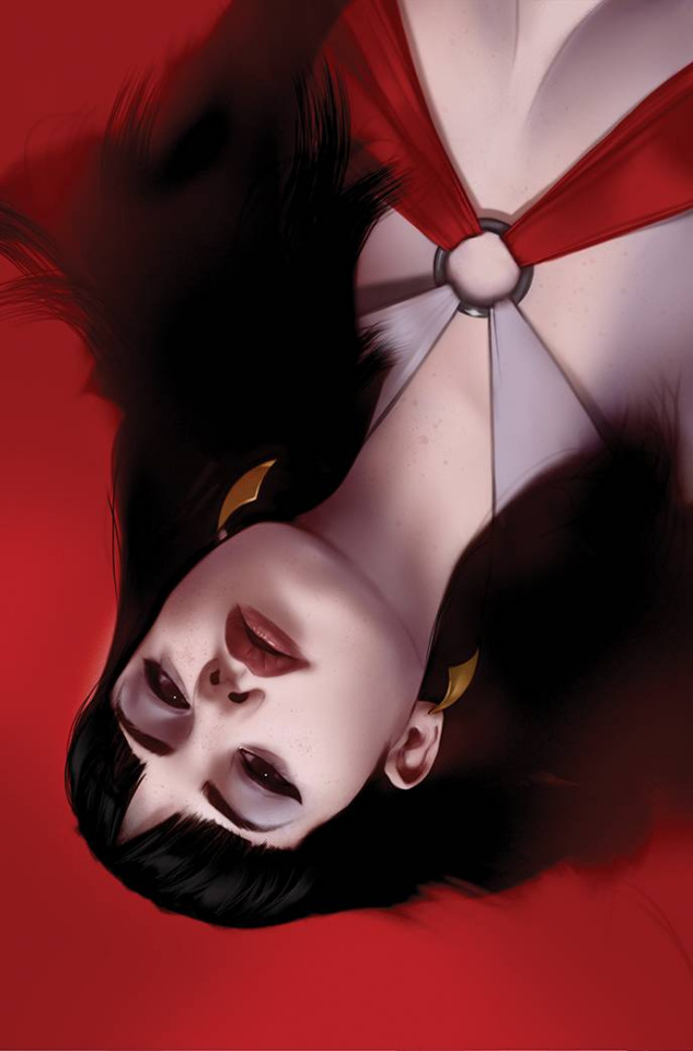 Vengeance of Vampirella #15 (Oliver Virgin Cover)