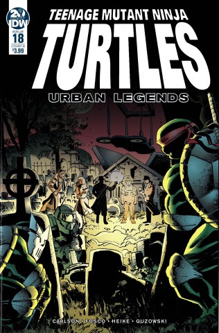 Teenage Mutant Ninja Turtles: Urban Legends #18 (Fosco & Larsen Cover)