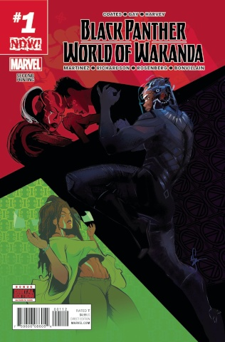 Black Panther: World of Wakanda #1 (2nd Printing Richardson Cover)
