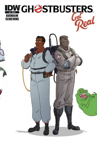 Ghostbusters: Get Real #4