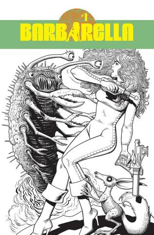 Barbarella #1 (40 Copy Bolland Line Art Cover)