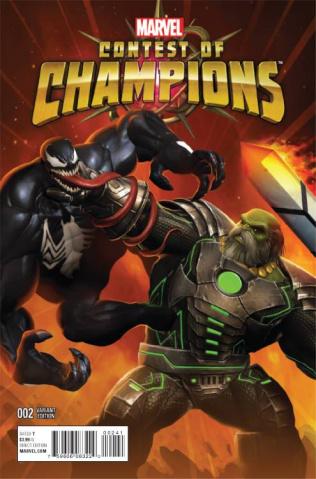Contest of Champions #2 (Contest of Champions Game Cover)
