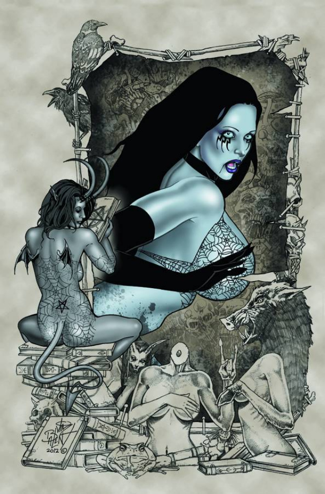 Tarot: Witch of the Black Rose #78
