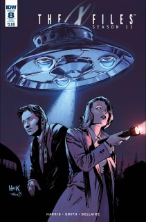 The X-Files, Season 11 #8 (Subscription Cover)