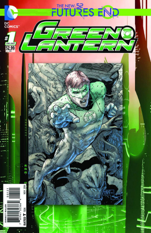 Green Lantern: Future's End #1 (Standard Cover)