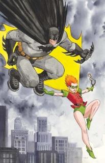 Dark Knight III: The Master Race #1 (Thompson Cover)