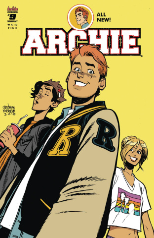 Archie #9 (Andrew Robinson Cover)